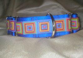 Caribbean-summer-königsblau, Martingale 4 cm