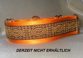 Ornament-goldorange, Martingale 4 cm