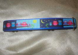 Nachteulen-königsblau, Martingale 2,5 cm