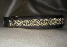 Celtic-schwarz, Klickverschluss,  2,5 cm