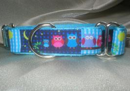Nachteulen-eisblau, Martingale 2,5 cm