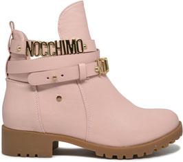 Chiara Pink Low Boots 6776-PA