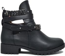 Chiara Black Low Boots 6776-PA