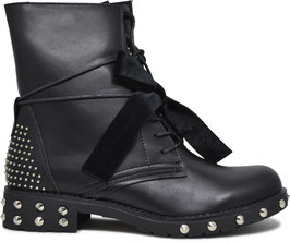 Kendall Black Studded Boots BH79-KB