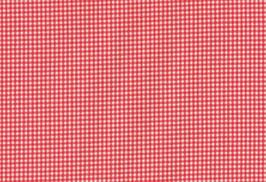 Pompadour, Landhaus rot-weiß kariert (klein)