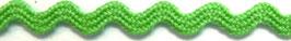 Zackenlitze Polyester hellgrün (3mm)