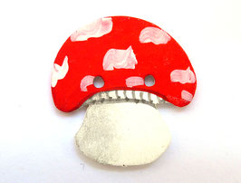 roter Pilz Holz