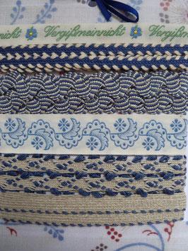 Geschenkpackung blau + Veilchen
