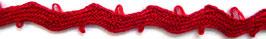 Litze Rein Leinen – pur lin (rot)