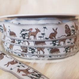 Tiere im Winterwald