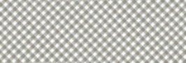 Schrägband grau-weiß kariert