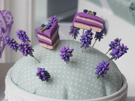 Stecknadel Lavendel