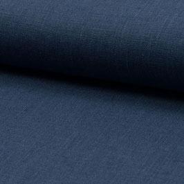 Leinenstoff dunkelblau