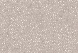 Kyoto, sand-weiß mit Punkten