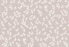 Kyoto, sand-weiß mit Libellen