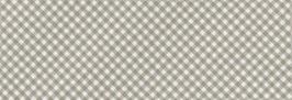Schrägband (Gent) braun-weiß kariert