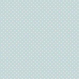 Patchworkstoff Punkte hellblau