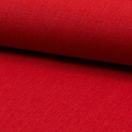 Leinenstoff rot