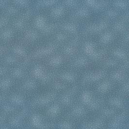 Patchworkstoff blau gepunktet