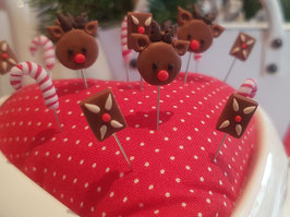 Weihnachts-Stecknadel