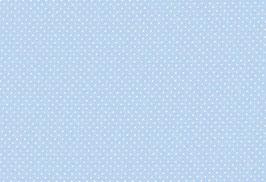 Capri, blau mit kl. weißen Punken