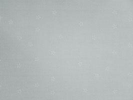 Leinenband silbergrau mit weißen Sternen (20cm)