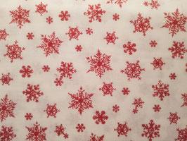 Patchworkstoff Schneeflocken
