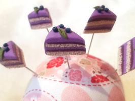 Stecknadel Torte - Blaubeer