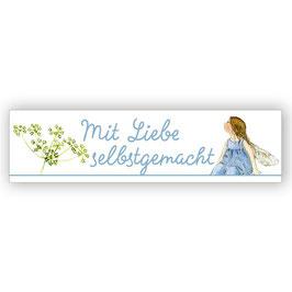 Webetikett, Mit Liebe Selbstgemacht - Elfe