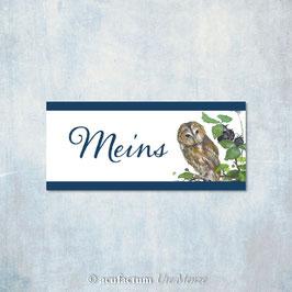 Webetikett, Meins - Eule