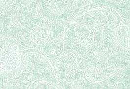 Cardiff, Paisley blassgrün-weiß