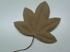 Walklodenblatt (beige)
