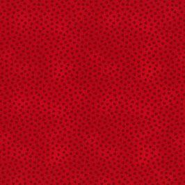 Patchworkstoff rot mit Herzen