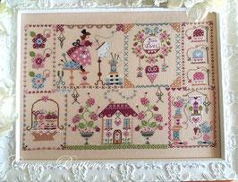 Stitching in Quilt
