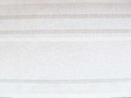 Leinenband weiß mit Hohlsäumen (28,5cm)