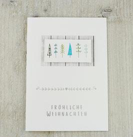 Weihnachtskarte NO 6
