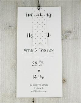 Einladung zur Hochzeit, Fächerkarte No 16