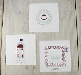 Kartenbündel maritim No 7