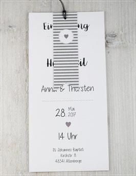 Einladung zur Hochzeit, Fächerkarte No 13