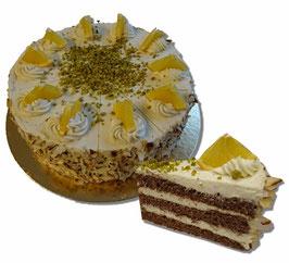 Torten mit 10 & 20cm ∅, Aroma bei Glutenfeie mit 18cm in Bemerkungen angeben.