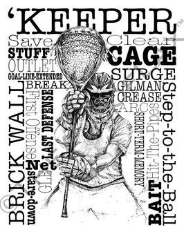 Word Montage--'KEEPER