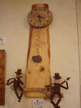 森の小人の振子時計