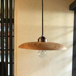 欅のペンダントライト ふんわり型 オーダーメイド