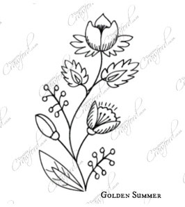 Bookmark Embroidery Design Template