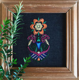 Mexicana Embroidery Kit