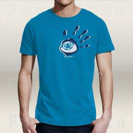 T-Shirt Fancyduke Design - Hand auf`s Herz