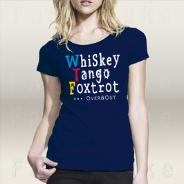 T-Shirt Fancyduke T-Shirt Design Whiskey Tango Foxtrot