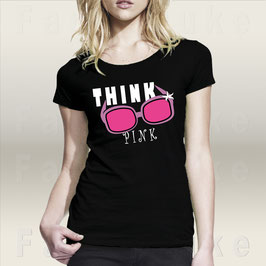 Fancyduke T-Shirt Design Think Pink