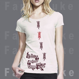 T-Shirt Design Fancyduke Aztec Snake Ethno Look