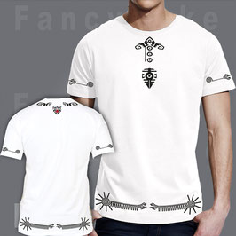 Fancyduke T-Shirt Design Aztec Ethno Symbol